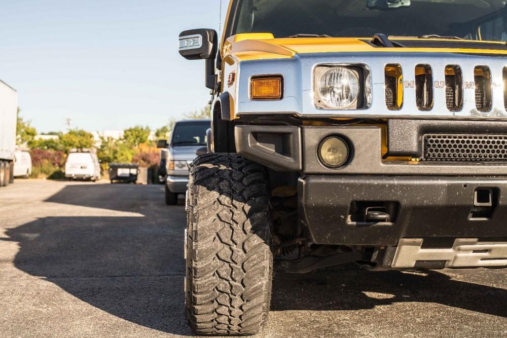 Wheel Offset 2005 Hummer H2 Super Aggressive 3 5 Leveling Kit