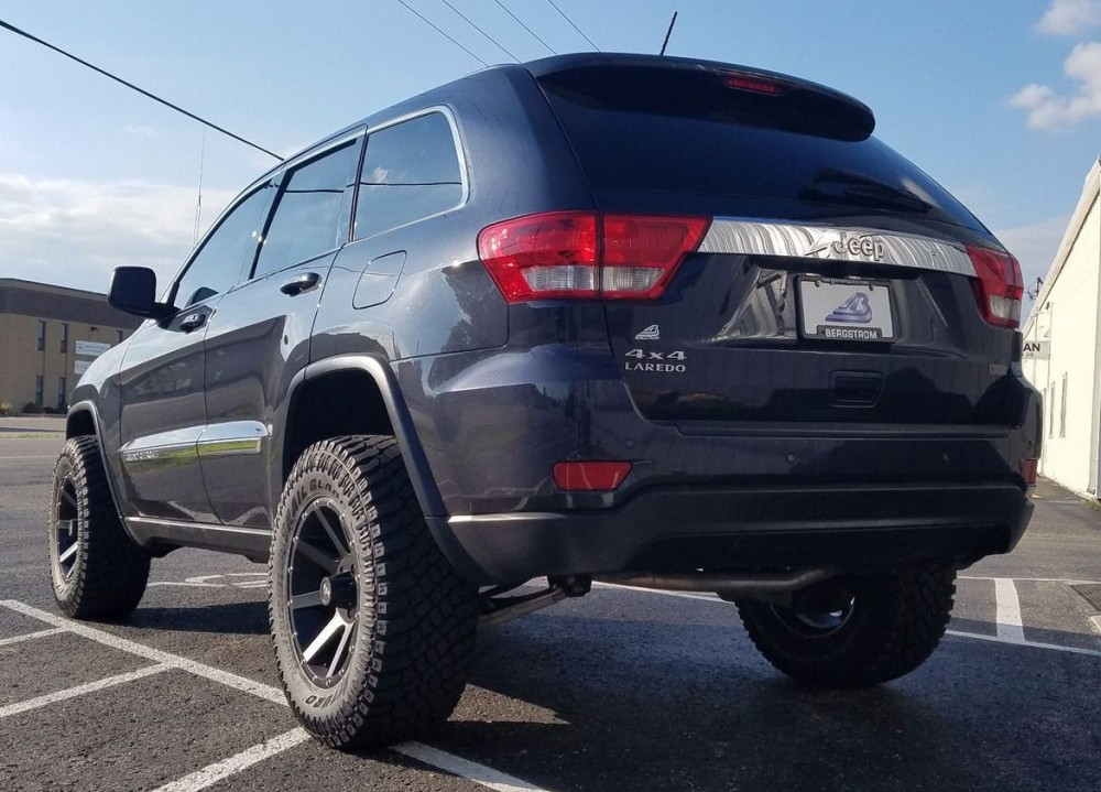 2013 Jeep Grand Cherokee Red Dirt Road Krawler Rocky Road